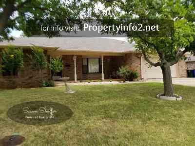 Duncan Single Family Home For Sale: 1506 Archway