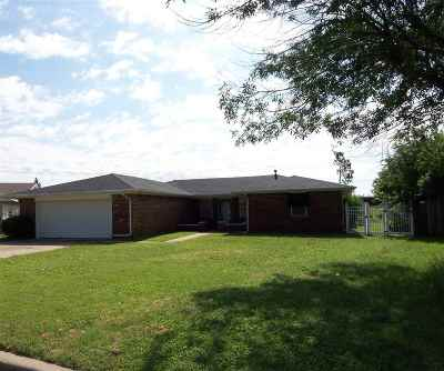 Duncan Single Family Home For Sale: 1702 Clover Circle