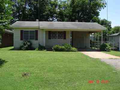 Marlow Single Family Home For Sale: 806 W Seminole