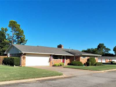 Duncan Single Family Home For Sale: 1604 Indian Terrace