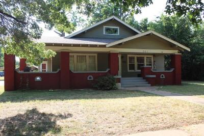 Marlow Single Family Home For Sale: 701 N Broadway