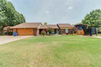 Duncan Single Family Home For Sale: 2108 W Club Road