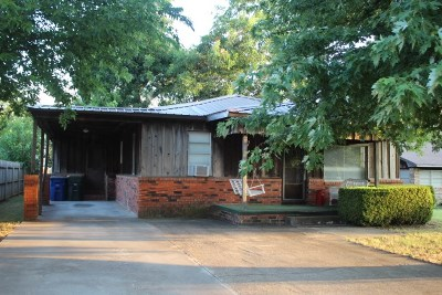 Marlow Single Family Home For Sale: 706 W Osage