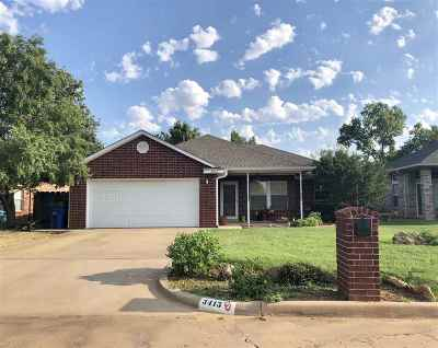 Duncan Single Family Home For Sale: 3413 Bates