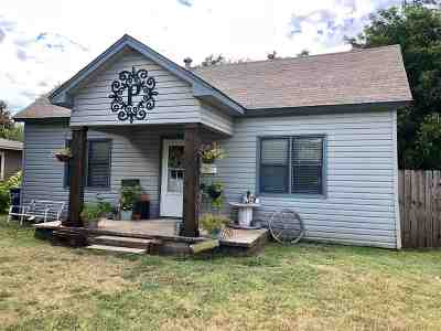 Marlow Single Family Home For Sale: 313 N 5th