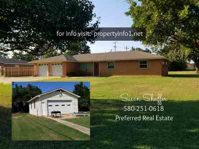 Duncan Single Family Home For Sale: 703 Palm