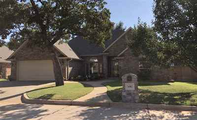 Duncan Single Family Home For Sale: 3402 Crown Oaks Dr