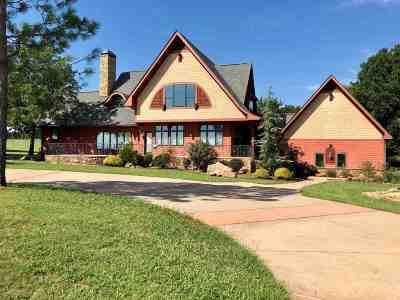 Duncan Single Family Home For Sale: 1550 E Elk