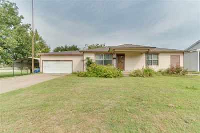 Marlow Single Family Home For Sale: 815 W Kiowa
