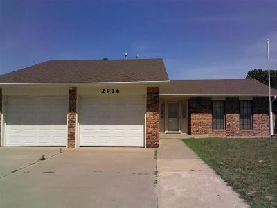 Single Family Home For Sale: 2916 Blue Sage Dr