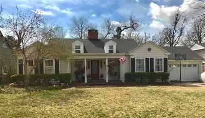 Single Family Home For Sale: 1511 Indian Dr