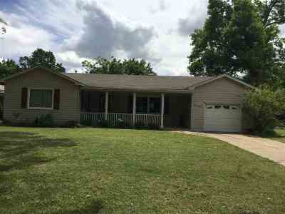 Single Family Home For Sale: 1609 Tahlequah
