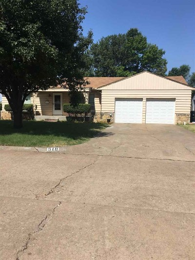 Single Family Home For Sale: 518 S Coolidge