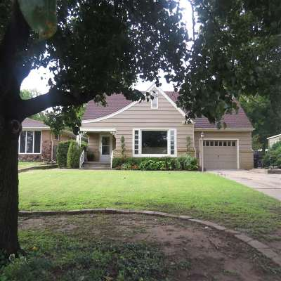 Single Family Home For Sale: 1009 Sequoyah
