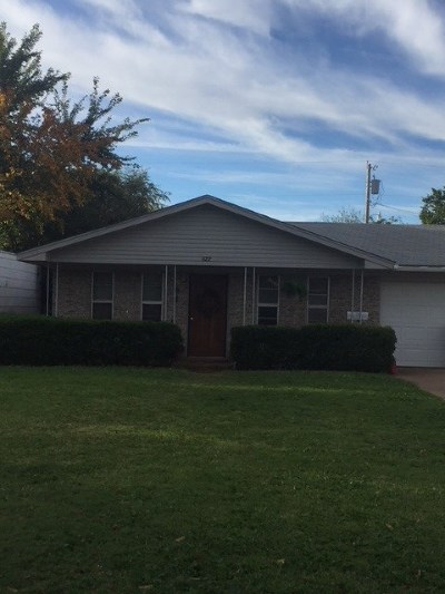 Single Family Home For Sale: 622 E Broadway