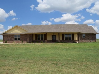 Enid Single Family Home For Sale: 7301 Long Branch