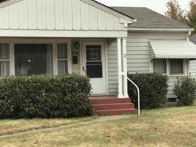 Single Family Home For Sale: 218 W Cherry