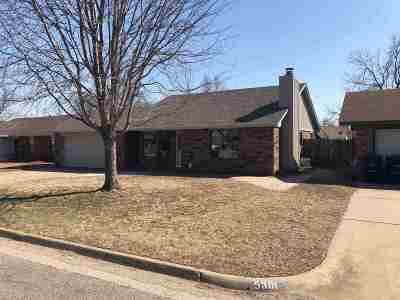 Enid OK Single Family Home For Sale: $119,000