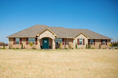 Single Family Home For Sale: 3716 Cactus Flats