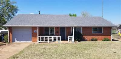 Enid OK Single Family Home Sold: $103,000