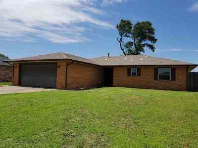 Enid OK Single Family Home Sold: $134,900