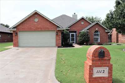 Single Family Home For Sale: 1112 Briar Ridge