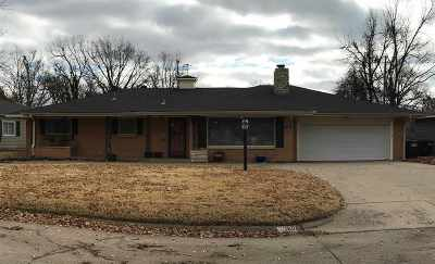 Single Family Home For Sale: 1601 Indian Dr