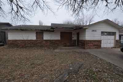 Single Family Home For Sale: 2931 Edgewood