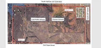 Enid  Residential Lots & Land For Sale: South Half Sec-16