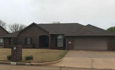 Enid  Single Family Home For Sale: 4333 Briar Ridge Rd