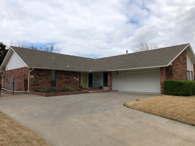 Enid Single Family Home For Sale: 4208 Sand View Dr