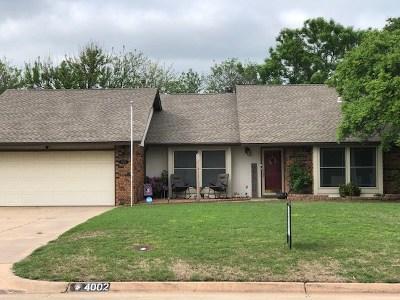 Single Family Home For Sale: 4002 Shenandoah