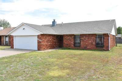 Enid Single Family Home For Sale: 5605 Arrowhead