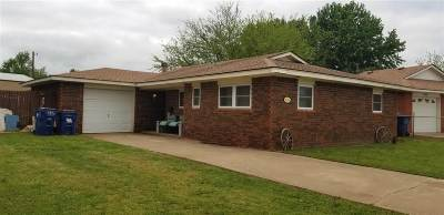 Waukomis Single Family Home For Sale: 406 Chisholm Circle