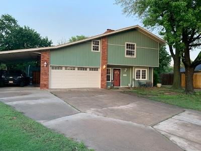Enid  Single Family Home For Sale: 1702 Buckboard