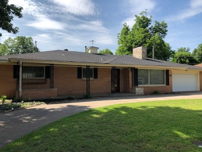 Enid  Single Family Home For Sale: 1601 Indian Dr
