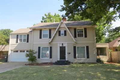 Enid  Single Family Home For Sale: 1010 Ramona