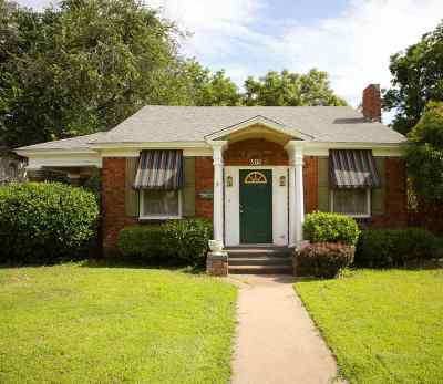 Single Family Home For Sale: 815 W York