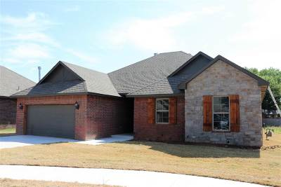 Enid  Single Family Home For Sale: 4617 Rush Springs