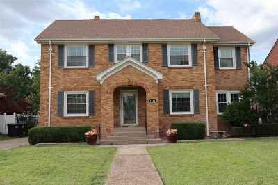 Enid  Single Family Home For Sale: 1216 Indian Drive