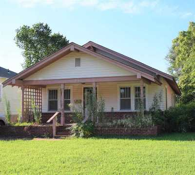 Enid OK Single Family Home For Sale: $34,000