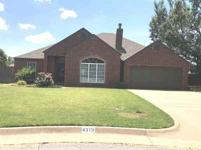Enid OK Single Family Home For Sale: $189,900