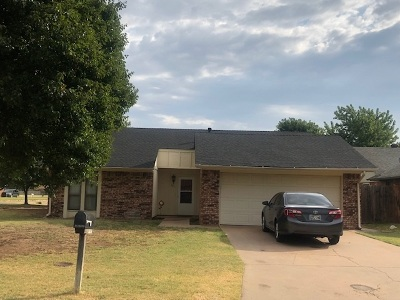 Enid OK Single Family Home For Sale: $139,900