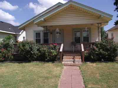 Enid OK Single Family Home For Sale: $116,000