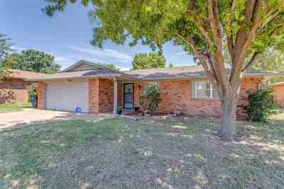 Enid OK Single Family Home For Sale: $114,900