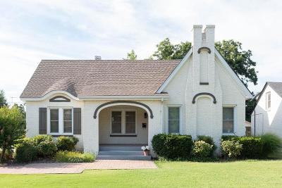 Enid Single Family Home For Sale: 1207 Indian Dr