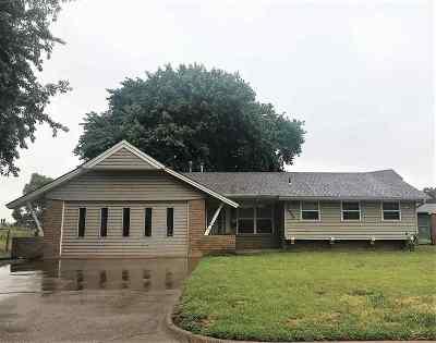 Enid OK Single Family Home For Sale: $118,500