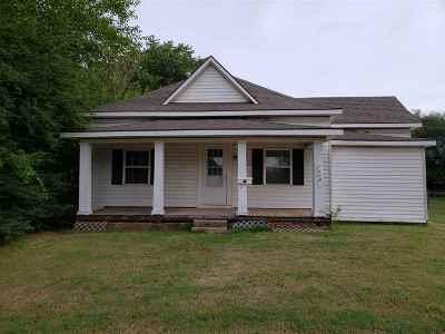 Enid OK Single Family Home For Sale: $57,500