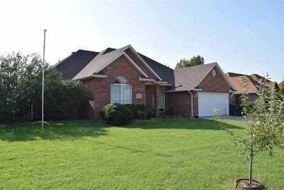Enid  Single Family Home For Sale: 1808 Constitution