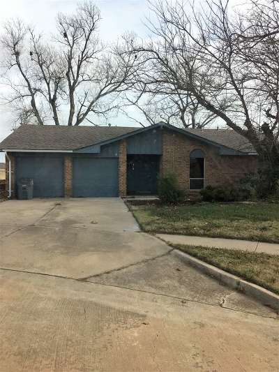 Lawton OK Single Family Home Sold: $105,000
